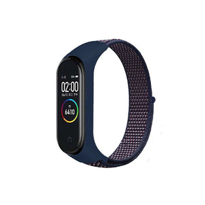 Nylon Wristband Strap for Mi Band 5/4/3 - Cerulean