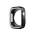 Armour Protective Bumper Case Cover for Apple Watch SE 44mm,Series 6/5/4-Black & Grey