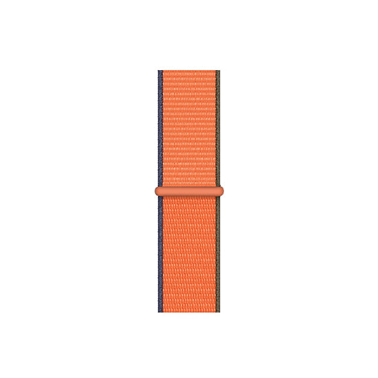 Woven Nylon Straps For Apple Watch-42/44mm New 2020 Edition(Kumquat)