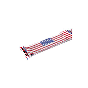 Milanese Loop Strap for iWatch 42-44mm USA Flag
