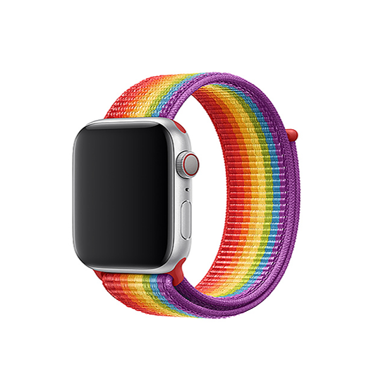Woven Nylon Strap For Apple Watch-Pride (38/40mm)
