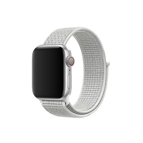 Reflective White Black For Apple WatchBand (38/40mm)