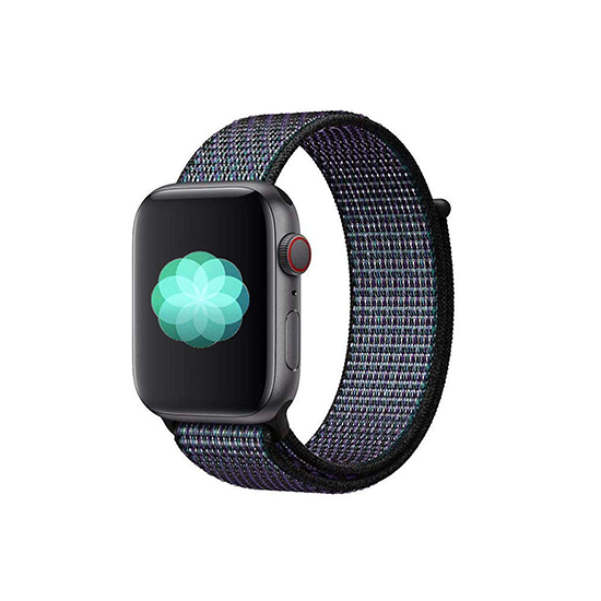 Woven Nylon Strap For Apple Watch-Red (42/44mm)