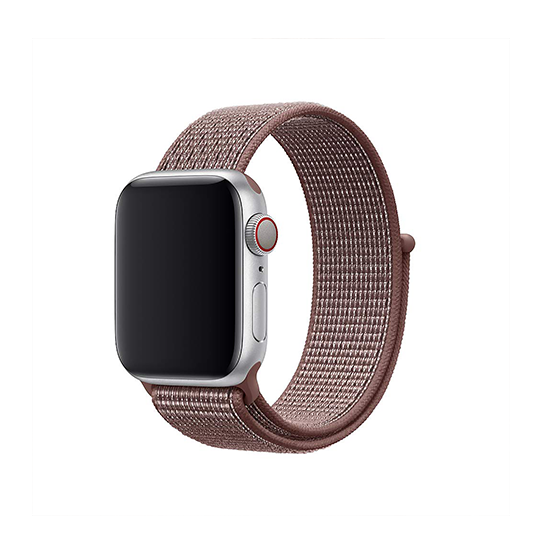 Woven Nylon Strap For Apple Watch-Smokey Mauve (38/40mm)