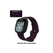 Load image into Gallery viewer, Silicone Wristband Strap For Fitbit Sense/Versa 3-Midnight Blue