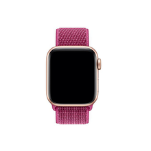 Load image into Gallery viewer, Woven Nylon Strap For Apple Watch-Dragon Fruit (38/40mm) - CellFAther