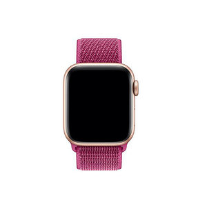 Woven Nylon Strap For Apple Watch-Dragon Fruit (38/40mm) - CellFAther