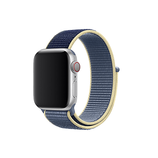 Woven Nylon Strap For Apple Watch-Smokey Mauve (38/40mm) - CellFAther