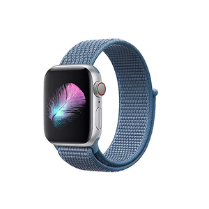 Woven Nylon Strap For Apple Watch-Cape Code Blue (42/44mm) - CellFAther