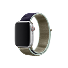Load image into Gallery viewer, Woven Nylon Strap For Apple Watch-Reflective White (38/40mm) - CellFAther