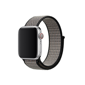 Woven Nylon Strap For Apple Watch-Black (42/44mm) - CellFAther