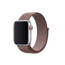 Load image into Gallery viewer, Woven Nylon Strap For Apple Watch-Black (42/44mm) - CellFAther