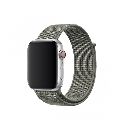 Woven Nylon Strap For Apple Watch-Reflective White (42/44mm) - CellFAther