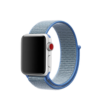Load image into Gallery viewer, Woven Nylon Strap For Apple Watch-Reflective White (42/44mm) - CellFAther