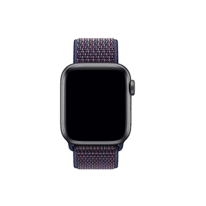 Woven Nylon Strap For Apple Watch-Indigo (42/44mm) - CellFAther