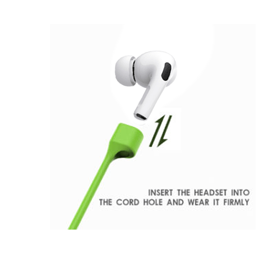 Anti-Lost Magnetic Cord(Strap) for Airpods Pro - Green - CellFAther
