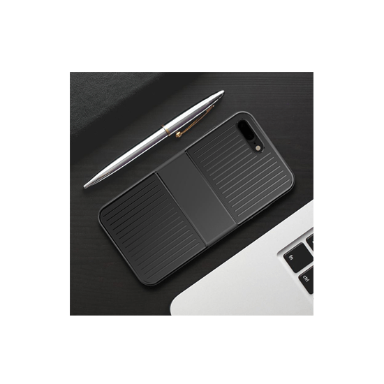 Baseus Mobile Phone Case Cover for iPhone 8 7 Plus-Black - CellFAther