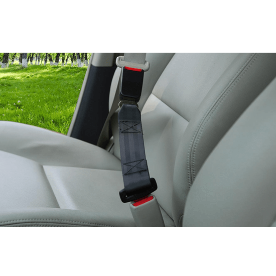 Universal Safety Car Seat Belt Extension With 7/8 inch Metal Tongue for Overweight People, Baby Seats (Length 23cm) - CellFAther