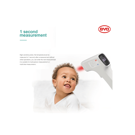 BYD Infrared Digital Forehead Thermometer - CellFAther