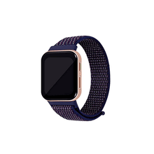 Load image into Gallery viewer, CellFAther Indigo Woven Nylon Strap for Oppo Watch 46mm-Rainbow