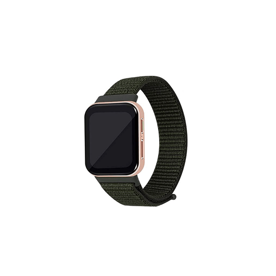 CellFAther Kargo Khaki Woven Nylon Strap for Oppo Watch 46mm-Indigo