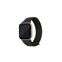 Load image into Gallery viewer, CellFAther Kargo Khaki Woven Nylon Strap for Oppo Watch 46mm-Rainbow