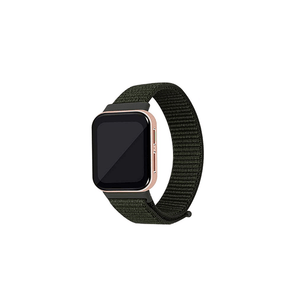 CellFAther Kargo Khaki Woven Nylon Strap for Oppo Watch 46mm-Seashell
