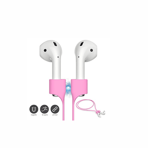Anti-Lost Magnetic Cord(Strap) for Airpods 1/Airpods 2 - Pink - CellFAther
