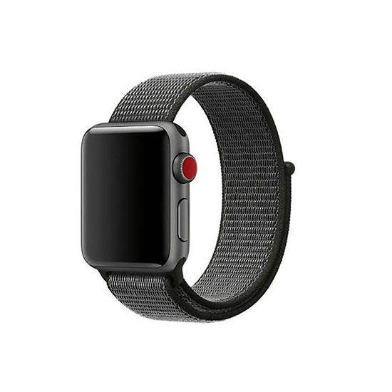 Woven Nylon Strap For Apple Watch-Pomegranate (42/44mm) - CellFAther