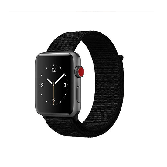 Woven Nylon Strap For Apple Watch-Red (38/40mm) - CellFAther