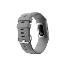 Load image into Gallery viewer, Silicone Replacement Band For Fitbit Charge 3/ SE (Large-Grey) - CellFAther