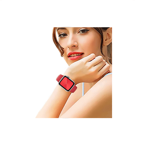 Silicone Strap For Apple Watch-Red (42/44mm) - CellFAther