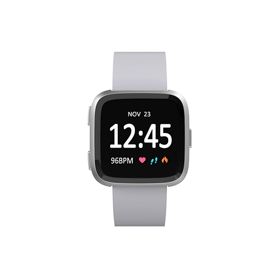Silicone Strap For Fitbit Versa/Fitbit Versa 2/Fitbit Versa Lite Edition (Grey) - CellFAther