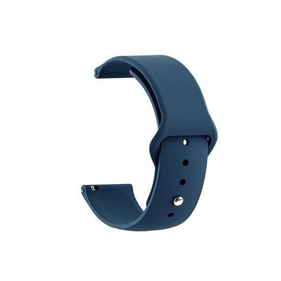 CellFAther Strap Silicone Strap For Fitbit Versa/Fitbit Versa 2/Fitbit Versa Lite Edition (Midnight Blue-Plain) Silicone Strap For Fitbit Versa/Fitbit Versa 2/Fitbit Versa Lite Edition (Black) | bestcell2017