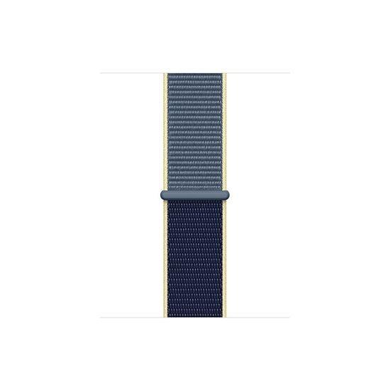 Woven Nylon Strap For Fitbit Versa/Versa 2 /Versa Lite (Alaskan Blue) - CellFAther