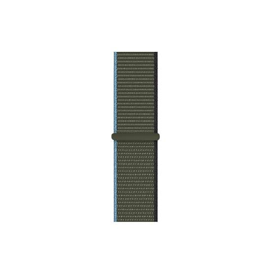 CellFAther Straps New 2020 Edition Nylon Straps For Apple Watch-42/44mm (Inverness Green)