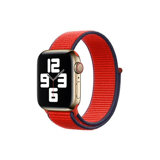 CellFAther Straps (PRODUCT)RED New 2020 Edition Nylon Straps For Apple Watch-42/44mm (Cream)