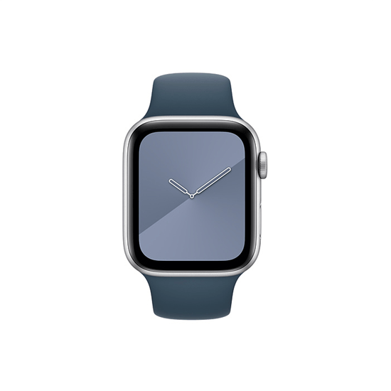 Silicone Strap For Apple Watch-Blue (38/40mm) - CellFAther