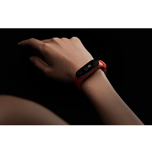 Silicone Wristband for Mi Band 4/ Mi Band 3 (Orange-Ironman Edition) - CellFAther