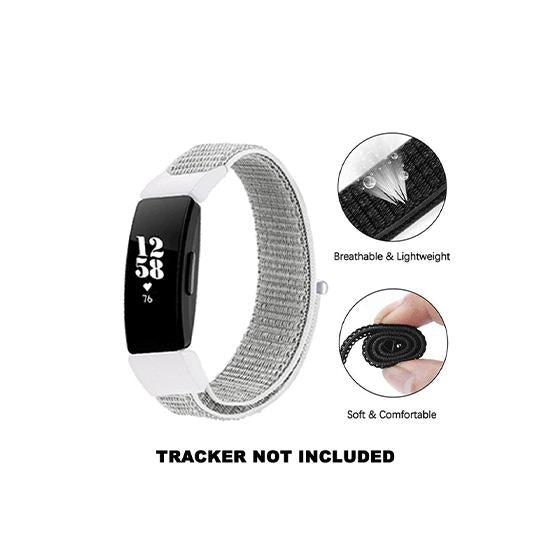 CellFAther Woven Nylon Band For Fitbit Inspire/Fitbit Inspire HR/ ACE 2 - Seashell