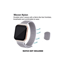 Load image into Gallery viewer, CellFAther Woven Nylon Strap for Oppo Watch 46mm-Seashell