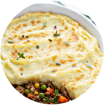 Garlic Buttery Shepherd's Pie