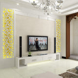 Removable INS xiangyun totem acrylic DIY mirror wall sticker 3D Living room hotel KTV bar cinema decoration Wall Sticker