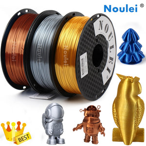 Shiny PLA Filament Silky 3D Printing Materials 1.75mm 1KG