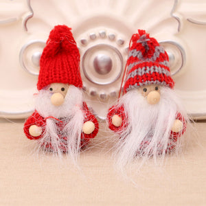 Christmas Tree Decoration Elf Dolls Ornament Christmas Decorations For Home Accessories Cute Dolls Xmas New Year Kids Gift