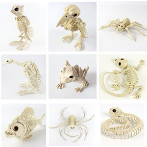 High quality Animal Skeleton toy Trinkets Halloween animal Skeleton decoration Bones house fashion artwork Party Decoration