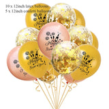 1set Happy New Year Balloons Wedding Christmas Supplies