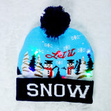2020 HOT Light Up Knitted Hat for Kid Adult For Christmas