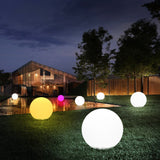 Remote Control Outdoor LED Garden Lights Lighting Ball illuminated Globe Lawn Lamp Swimming Pool Wedding Party Holiday Decor