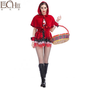 LeeCee Sexy Lingerie Hot Porn Charm Christmas Uniform Women's Babydoll Dim Sexy Gift QS015